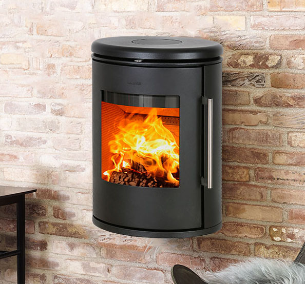 Mors 248 6870 Wall Mounted Wood Stoves Ireland