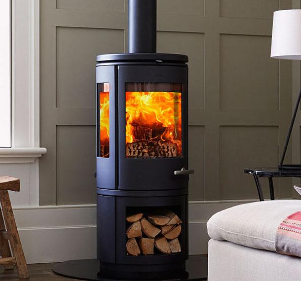 Mors 248 7943 With Log Storage Wood Stoves Ireland